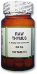 Raw Thymus - 100 count