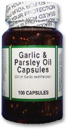 Garlic & Parsley Oil - 100 count